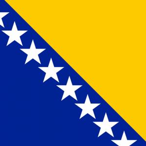 Drapeau de la Bosnie-Herzégovine