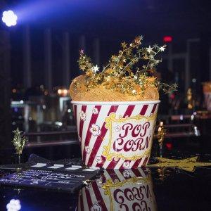 Centre de table popcorn cinéma