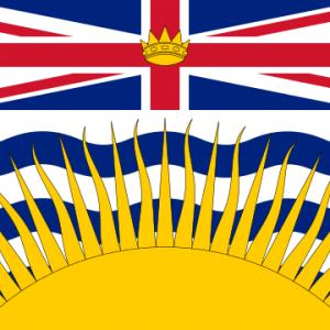 Drapeau de la Colombie-Britannique