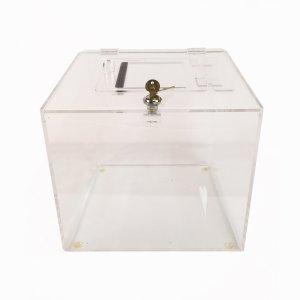 Boîte de tirage en acrylique
