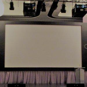 Cadre iPad géant pour projection
