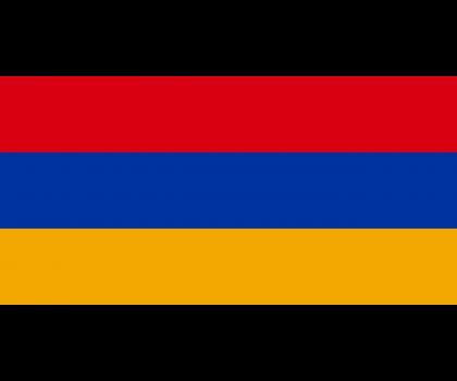 Drapeau de l'Arménie