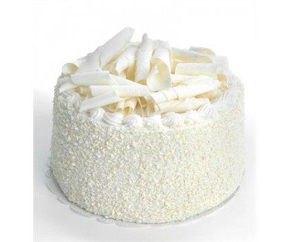 Gâteau chocolat blanc