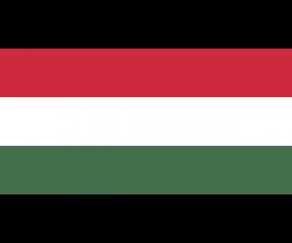 Drapeau de l'Hongrie