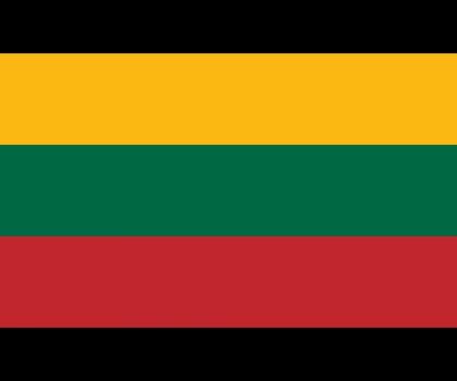 Drapeau de la Lituanie