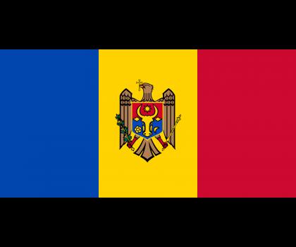 Drapeau de la Moldavie