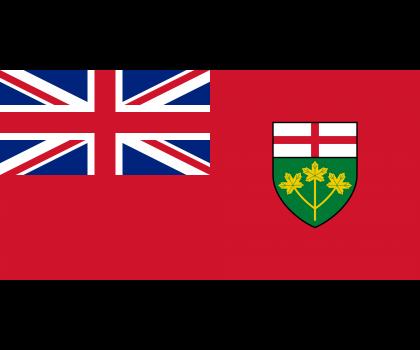 Drapeau de l'Ontario