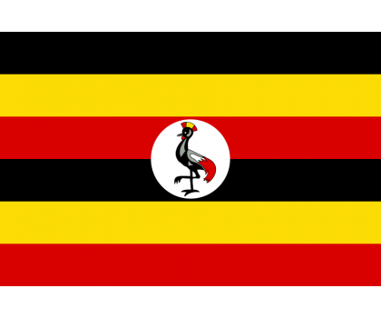 Drapeau de l'Ouganda