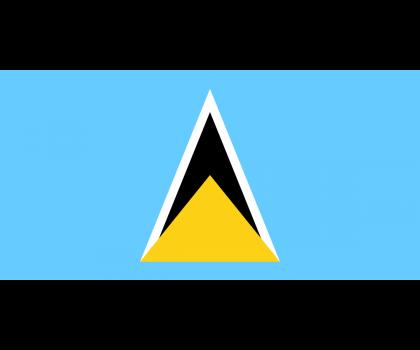 Drapeau de Sainte-Lucie