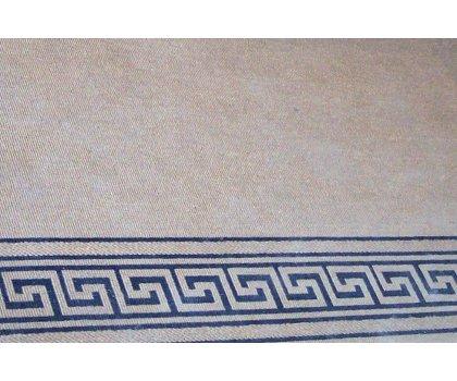 Tapis carpette beige avec motifs égyptien
