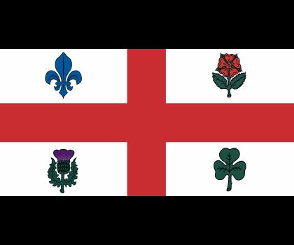 Drapeau de Montréal