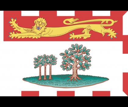 Drapeau de l'Île du Prince-Edouard