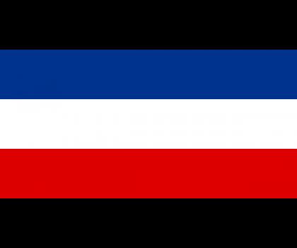 Drapeau de la Serbie-et-Monténégro