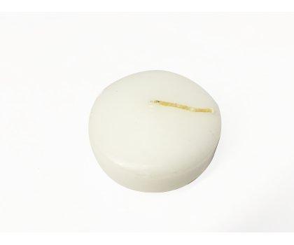 Bougie flottante blanche