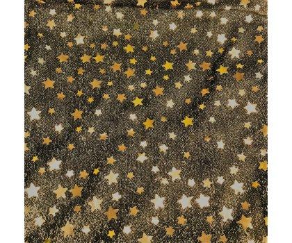 sur-nappe or avec étoiles