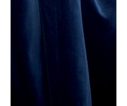 Velours bleu marine
